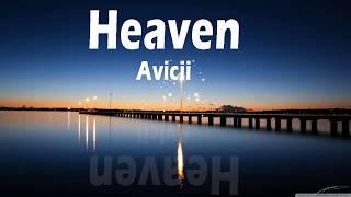 (Avicii Heaven(Lyrics