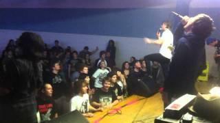 Fall City Fall - Dissentipede (Live - Saskatoon)
