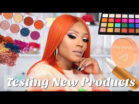 Orange Cut Crease + Testing out New Products!
