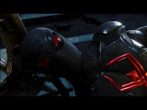 Spider-Man - Dark Suit In All Cinematics Pt. 1