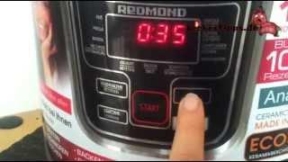 Vorstellung - Mein Multikocher REDMOND RMC-M20-DE