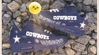Cowboys Bandana Nike Air Max 90 Navy