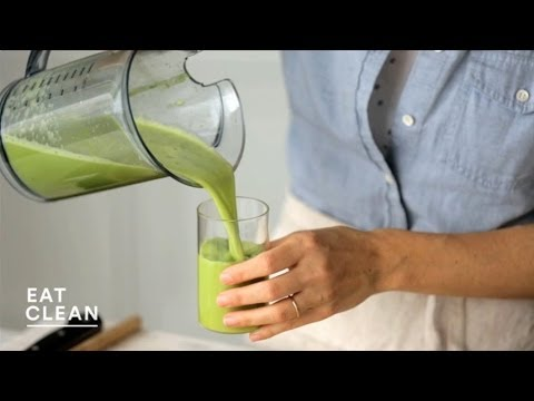 Video Lemon-Cucumber Apple Juice - Eat Clean with Shira Bocar