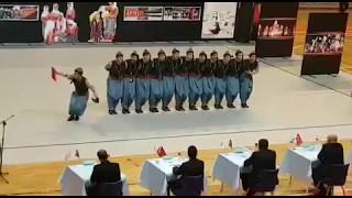 Diyarbakır Halk Oyunları 2017 Yenişehir Hem GSK Grup Birincisi