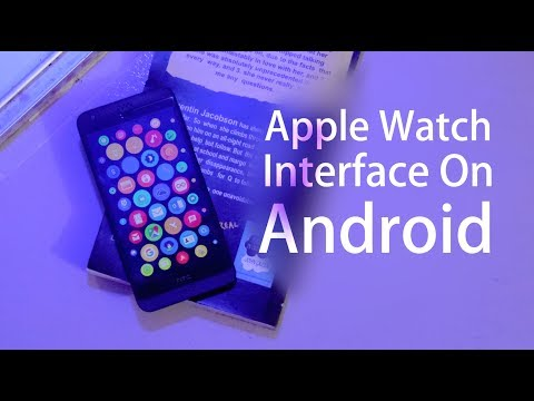 Get Apple WatchOS Interface on Android Phone | Launcher