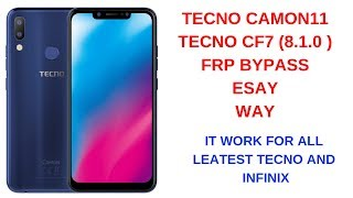 Download Video Tecno Camon i Click2 frp bypass without pc