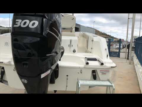 Boston Whaler 230 Outrage video