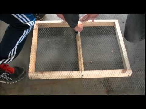 Kompostsieb selber bauen!// Tipps und Tricks zum Kompostsieb bauen