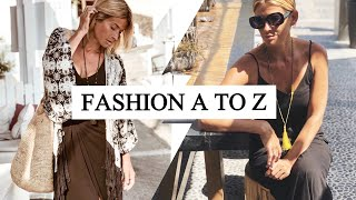 FASHION A TO Z | High Street And Luxury Fashion | BEST OF THE BS