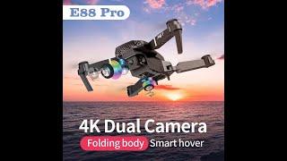 SHAREFUNBAY E88 pro Дрон 4k HD Двойная камера визуальное позиционирование 1080P WiFi. #Shorts