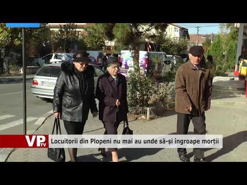 Locuitorii din Plopeni nu mai au unde să-și îngroape morții