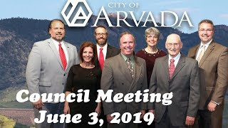 Preview image of City Council Meeting  - June 3, 2019