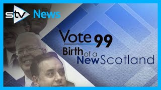 1999 Election - 20 Years ago - Birth of a New Scotland
