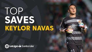 Keylor Navas: Levante UD and Real Madrid Best Saves in LaLiga Santander