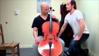 Cello Lesson for a Beginner