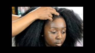 VIXEN SEW IN WEAVE USING XPRESSION NATURAL