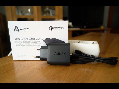 Turbo cargador Aukey: bueno, bonito y barato