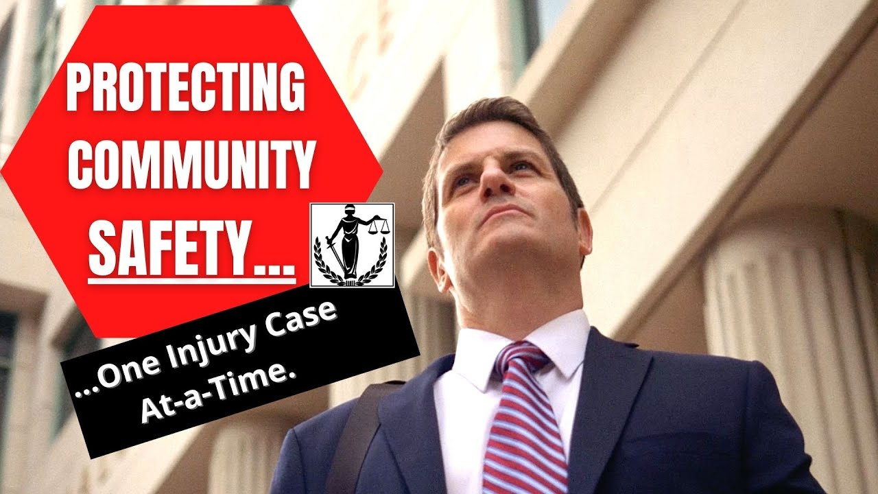 Injury Trial Attorneys Make Community Safe for Us All