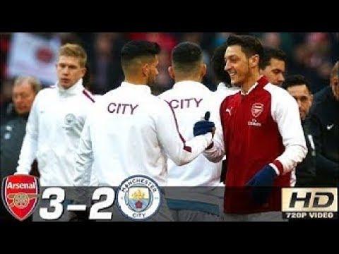 Arsenal vs Manchester City 3-2 - All Goals & Extended Highlights RÉSUMÉ & GOLES