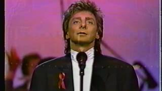 "BARRY MANILOW AT FIESTA AT FORD THEATER  FINALLY SONG  "" LET FREEDOM RING "" 1992"