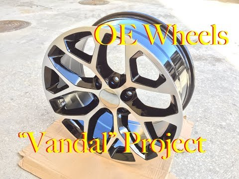 "OE Wheels on the ""Vandal"" Project, 20""x9"" GMC Replica's"