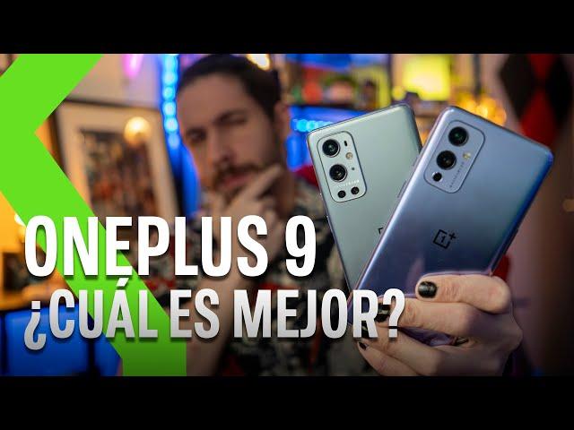 OnePlus 9 vs OnePlus 9 Pro: ¿CUÁL ME COMPRO?