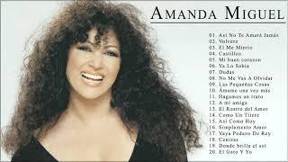 Amanda Miguel Sus Grandes Exitos || Las Mejores Canciones Románticas De  Amanda Miguel