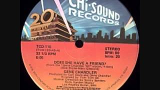Classic Steppers Jam Gene Chandler - Does She Have A Friend For Me (1980) - YouTube.flv