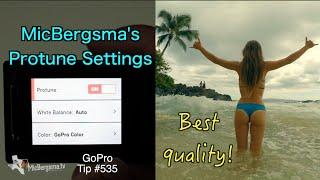 Best GoPro Protune Settings! MicBergsma