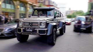 6x6 AMG G63, the ULTIMATE city car to go shopping in Harrods?