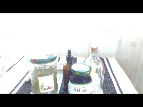 Metode de tratament cu helminți