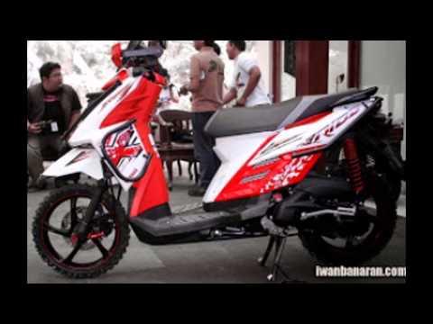 Video Modifikasi Motor x ride