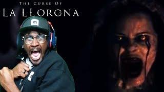 THE CURSE OF LA LLORONA TRAILER REACTION (2019)