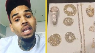 "Chris Brown ""Flexing On Migos; YA'LL AIN'T GOT JEWELRY LIKE THIS"""