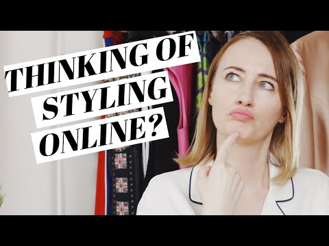 How to become an ONLINE PERSONAL STYLIST ( MAKE $$$$ ONLINE )