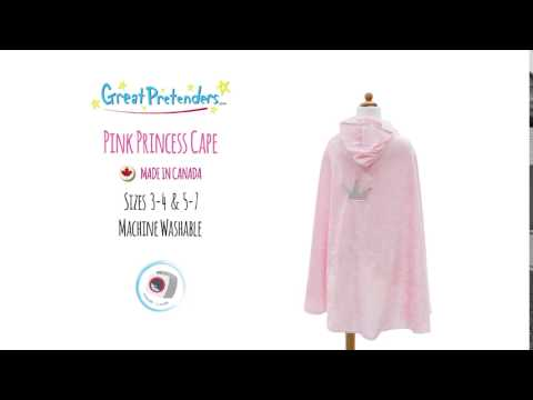 Princess Cape - pink, MD
