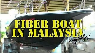 Boat fiberglass untuk dijual