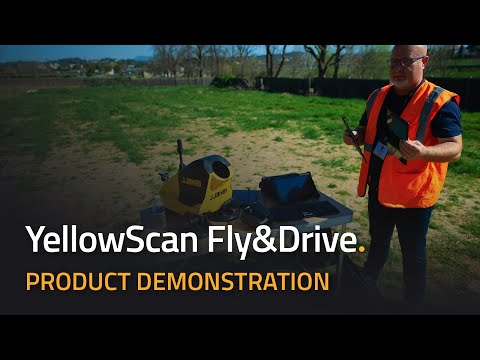 YellowScan Fly & Drive UAV LiDAR and Mobile Mapping - Product Demonstration