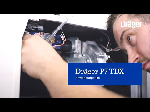 Anwendungsfilm Dräger P7-TDX für die Gebrauchsfähigkeitsprüfung