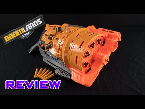 [REVIEW] Nerf Doomlands The Judge | Unboxing, Review, & Firing Demo