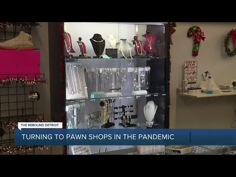 Metro Detroiters turn to pawn shops for hard-to-find items amid pandemic