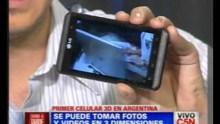 C5N - TECNOLOGIA: PRIMER CELULAR 3D EN ARGENTINA