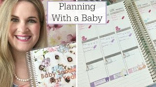 Plan With Me | Planning With a Baby