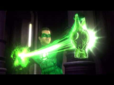 Green Lantern Might As Well Just Use His Ring To Summon Kratos