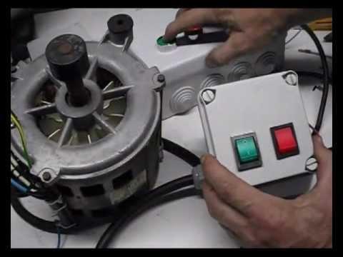Cómo conectar un motor de lavadora con interruptores.(1)