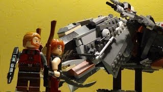preview picture of video 'Le Léviathan [ review MOC Lego ]'