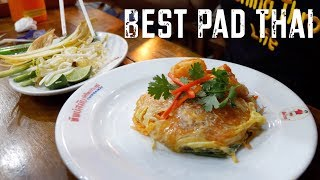 BEST Pad Thai In Bangkok!! At Thipsamai