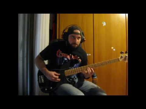 Rehearsing ManOwaR - Guyana (Cult of the Damned) on bass