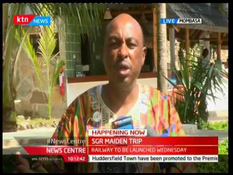 Government Spokesperson-Eric Kiraithe on the preparations for the launch of SGR
