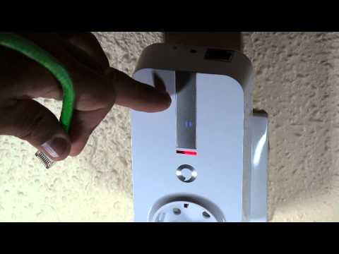 PLC (Internet por la red eléctrica) de Vodafone.